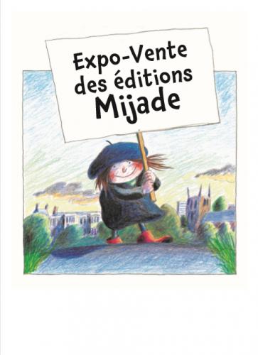 Expo-vente des éditions Mijade