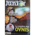 Science et Vie Junior, 166 - Juillet 2003 - Le mystère des ovnis