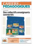 Cahiers Pédagogiques, N°548 - Novembre 2018 - Dossier : Des collectifs enseignants connectés