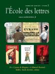 """L'Ecole des Lettres : collèges, 2018-2019, n°2 - Novembre 2018 - Janvier 2019 - De """"Cyrano de Bergerac"""" à Edmond Rostand : théâtre, bande dessinée, cinéma"""