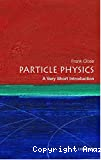 Particle physics. a very short introduction