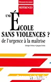 Une école sans violences
