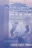 Actes du 1er Colloque français sur le déni de grossesse, Université Paul Sabatier, Toulouse 23 et 24 octobre 2008