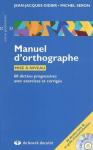 Manuel d'orthographe