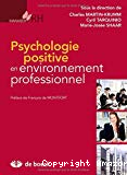 Psychologie positive en environnement professionnel