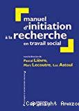 Manuel d'initiation à la recherche en travail social