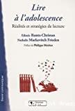 Lire à l'adolescence