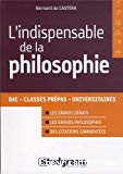 L'indispensable de la philosophie