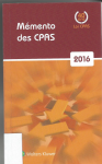 Mémento CPAS 2016