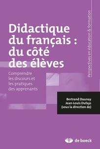 Didactique du français : du côté des élèves