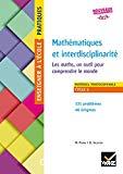 Problèmes mathématiques et interdisciplinarité