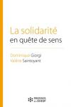La solidarité en quête de sens