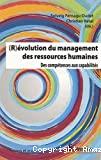 (R)évolution du management des ressources humaines