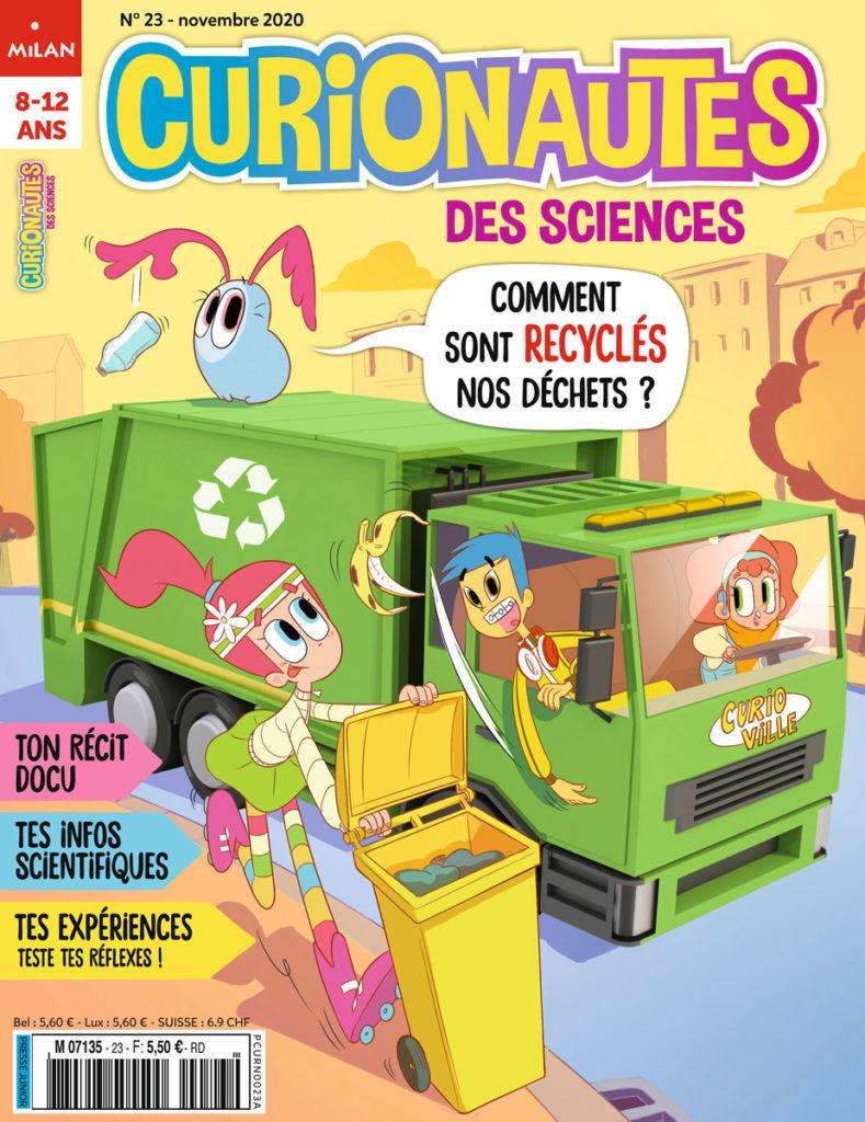 Curionautes des sciences, N°23 - Novembre 2020 - Comment recyclés nos déchets ?