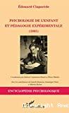 Psychologie de l'enfant et pédagogie expérimentale (1905)