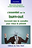 L'essentiel sur le burn-out