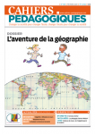 Dossier : L'aventure de la géographie