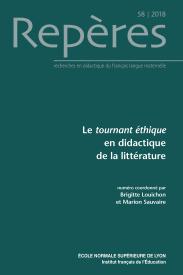 Le tournant éthique en didactique de la littérature