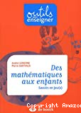 Des mathématiques aux enfants