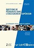 Questions de pédagogies dans l'enseignement supérieur