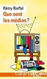 Que sont les médias ?