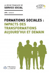 Comment se formera-t-on, demain en France, au travail social et à l'intervention sociale ?
