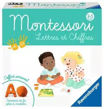Montessori. Lettres et chiffres. 3-5 ans