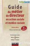 Guide du métier de directeur en action sociale et médico-sociale