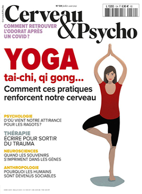 n°134 - Juillet-août 2021 - Yoga, tai-chi, qi gong... (Bulletin de Cerveau & Psycho, n°134 [01/07/2021])