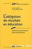 L' obligation de résultats en éducation : évolutions, perspectives et enjeux internationaux