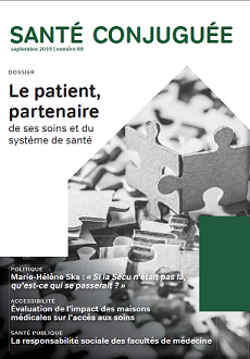Le patient, partenaire de ses soins et du système de santé