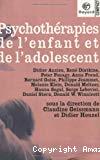 Psychothérapies de l'enfant et de l'adolescent