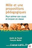 Mille et une propositions pédagogiques