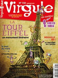 Virgule, N°191 - janv. 2021 - La Tour Eiffel, un monument littéraire
