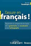 J'assure en français !