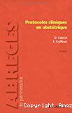 Protocoles cliniques en obstétrique