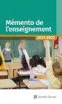 Mémento de l'enseignement 2021-2022