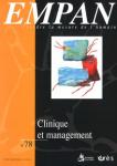 Lier management et clinique ? Des paradoxes aux perspectives