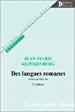 Des langues romanes