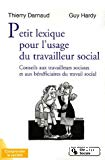 Petit lexique pour l'usage du travailleur social