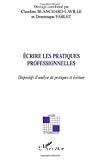 Écrire les pratiques professionnelles
