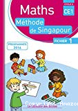 Maths méthode de Singapour. CE1, cycle 2 : fichier 1