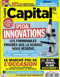 Capital, N°353 - février 2021 - Spécial innovations