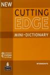 New cutting edge intermediate mini-dictionary