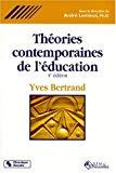 Théories contemporaines de l'éducation