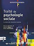 Traité de psychologie sociale