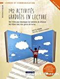 192 activités graduées en lecture