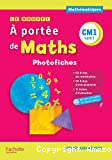 A portée de maths. Le nouvel À portée de maths CM1, cycle 3