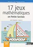 17 jeux mathématiques en petite section
