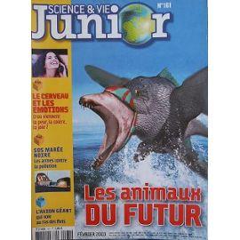 Science et Vie Junior, 161 - Février 2003 - Les animaux du futur